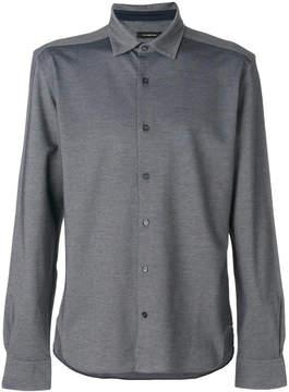 Ermenegildo Zegna piqued shirt