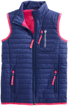 Vineyard Vines Girls Mountain Weekend Vest