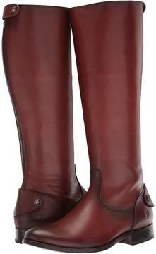 Frye Melissa Button Back Zip Women's Zip Boots