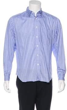 Billy Reid Woven Check Shirt