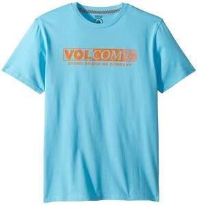 Volcom Harsh Fade Short Sleeve Tee Boy's T Shirt