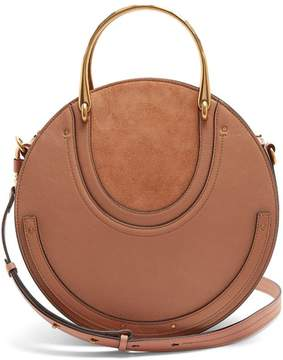 Chloé Pixie Suede And Leather Cross Body Bag - Womens - Mid Nude