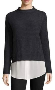 Design History Layered Cashmere Sweater