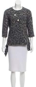 Celine Bouclé High-Low Sweater