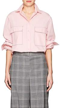 Cédric Charlier Women's Cotton Button-Front Shirt