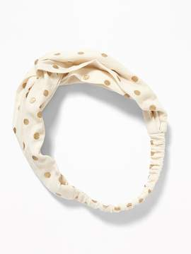 Old Navy Patterned Twist-Front Headband for Toddler Girls