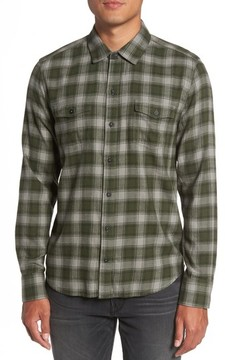 Paige Men's Everett Plaid Sport Shirt