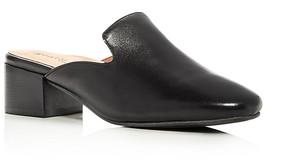 Gentle Souls Eida Leather Block Heel Mules