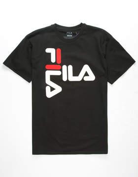 Fila Anthony Mens Black T-Shirt