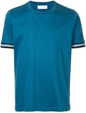 Cerruti contrast-trim T-shirt