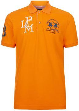 La Martina 3 Logo Polo Shirt
