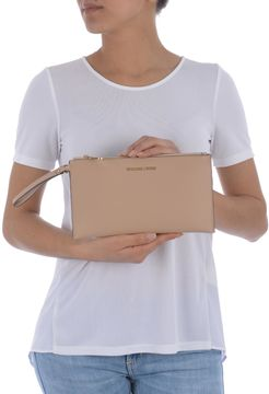 Michael Kors Jet Set Travel Clutch - BEIGE - STYLE