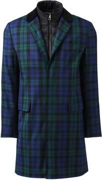 Lands' End Lands'end Men's Blackwatch Crombie Coat
