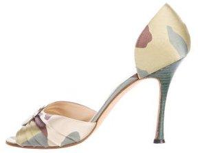 Manolo Blahnik Nadira d'Orsay Sandals