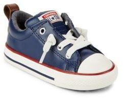 Converse Baby's & Toddler Street Mid Leather Sneakers