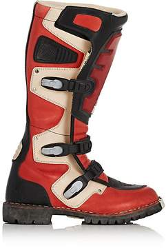 Balenciaga Men's Rider Leather Motocross Boots