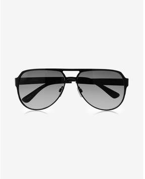 Express black aviator sunglasses