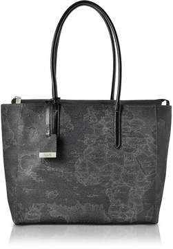 Alviero Martini Large Geo Black Tote