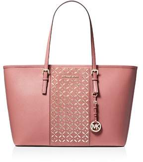 MICHAEL Michael Kors Voyager Large Hotfix Leather Tote