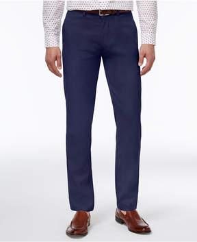 Kenneth Cole Reaction Men's Slim-Fit Fine Twill Techni-Cole Pants