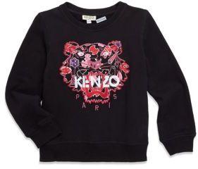 Kenzo Toddler's, Little Girl's & Girl's Cotton Sweatshirt