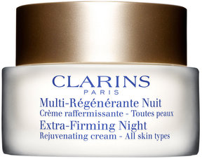 Clarins Extra-Firming Night Rejuvenating Cream - All Skin Types, 1.7 oz