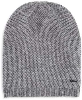HUGO BOSS Textured Knit Beanie