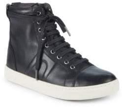 Camper Cap Toe Leather High-Top Sneakers