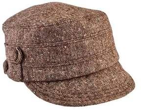 San Diego Hat Company Women's Cadet Speckled Tweed Newsboy Cap Cth8063.