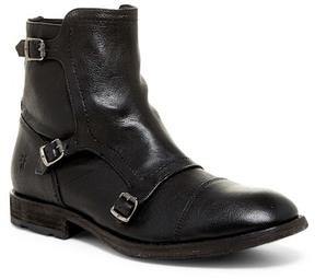 Frye Ethan Triple Monk Boot