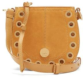 See by Chloe Kriss Mini Suede And Leather Cross Body Bag - Womens - Yellow