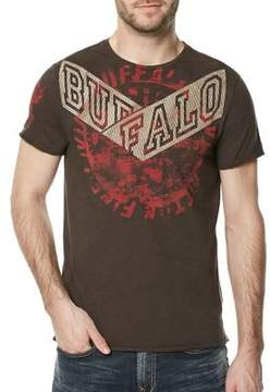 Buffalo David Bitton Kelp Tifuge Cotton Tee