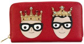 Dolce & Gabbana Dauphine designer patch purse - RED - STYLE