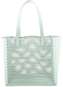 Loeffler Randall Laser Cut Leather Tote