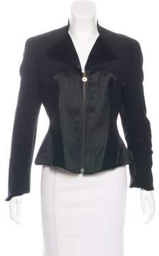 Christian Lacroix Collared Zip-Up Jacket