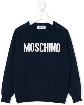 Moschino Kids sport chic sweatshirt