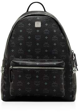 MCM Visetos Side Stud Medium Backpack