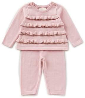 Kate Spade Baby Girls 3-9 Months Ruffle Sweater Top & Leggings Set