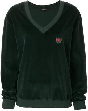 Yeezy crest velvet sweater