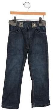 Ikks Girls' Belted Jeans