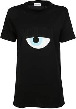 Chiara Ferragni Eye Embroidered T-shirt