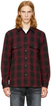 Marcelo Burlon County of Milan Red Iamens Shirt