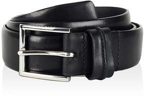 Cole Haan Feather Edge Belt with Pinch Detail on Loop