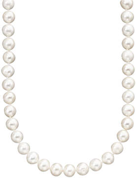 Belle de Mer Pearl Necklace, 18 14k Gold Cultured Freshwater Pearl Strand (6-7mm)