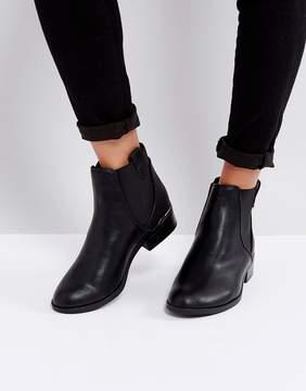 New Look Metal Heel Insert Chelsea Boot