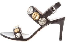Marc Jacobs Leather Studded Sandals w/ Tags