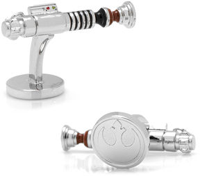 Asstd National Brand Star Wars Luke Skywalker Lightsaber Cuff Links