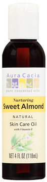 Aura Cacia Natural Skin Care Oil Nurturing Sweet Almond
