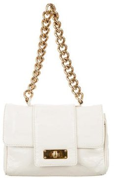 Marc Jacobs Patent Leather Handle Bag - WHITE - STYLE