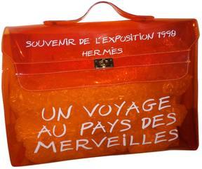 Hermes Kelly handbag - ORANGE - STYLE